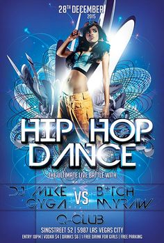 Free Hip Hop Dance Flyer Template - http://freepsdflyer.com/free-hip-hop-dance-flyer-template/ Enjoy downloading the Free Hip Hop Dance Flyer Template created by Awesomeflyer! #Beats, #Club, #Dance, #Dj, #Dub, #EDM, #Event, #HipHop, #Music, #Night, #Nightclub, #Party