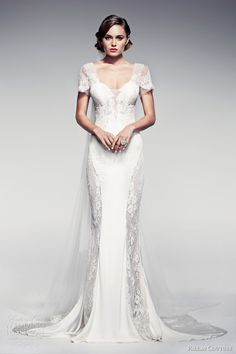 Unique wedding dress from Pallas Couture bridal 2014