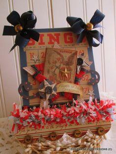 Cherry's Jubilee: Pledge Allegiance to the flag....