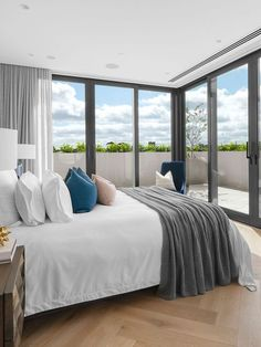Open House | Alexandra Penthouse by Dita Studio Parquetry Floor, Suburban House, Elegant Kitchens, Room Dimensions, Pent House, Beautiful Bedrooms, Architecture Details, Contemporary Design, Spaces