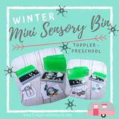 Winter Mini Sensory Bins ~!FREEBIE!~ by Living Our Adventures | Teachers Pay Teachers