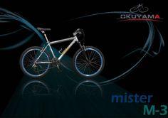 Bicicleta de aluminio marca Mister