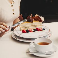 РЕСТОРАН TVRANDOT / ТУРАНДОТ (@turandot.palace) • Фото и видео в Instagram European Cuisine, Panna Cotta, Asian, Dishes, Cooking, Ethnic Recipes, Food, Kitchen, Dulce De Leche