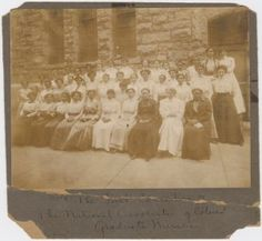 The First Convention of the National Association of Colored Graduate Nurses, 1909. Boston, Massachusetts.