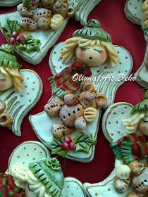 W Fine Porcelain China Diane Japan Salt Dough Crafts, Salt Dough Ornaments, Clay Ornaments, Christmas Ornaments, Diy Christmas Arts And Crafts, Christmas Craft Projects, Fimo Clay, Polymer Clay Crafts, Cinnamon Ornaments