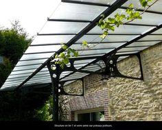 Pergola For Small Patio Pergola Canopy, Canopy Outdoor, Pergola Shade, Outdoor Rooms, Pergola On The Roof, Pergola Carport, Eisen Pergola, Glass Conservatory, May Garden