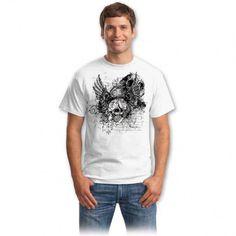 Tricouri cu cranii – Tricou Cranii rock Be The Boss, Rock, Mens Tops, T Shirt, Women, Fashion, Supreme T Shirt, Moda, Tee Shirt