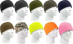 704d3b0b372a3 Details about Fleece Beanie Cap Deluxe Polar Fleece Military Style Beanie  Watch Cap 8460