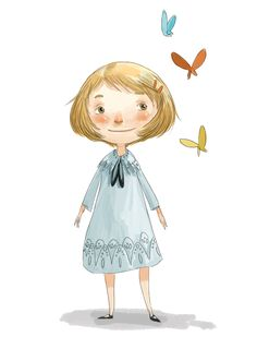 Ella Bailey Illustration: Butterfly