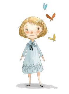 Ella Bailey Illustration: Butterfly