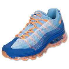 Fashion Womens Nike Air Max 95 DYN FW Running Shoes Light Blue - goalsBox™