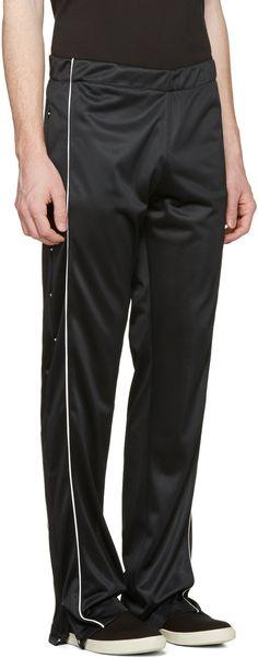 Maison Margiela - Black Snap Track Pants