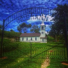 Ingemann Lutheran Church, nestled in the Loess Hills of Iowa, shared by (at)mandi78 on Instagram. We'd love to see your #midwestmoment: http://www.instagram.com/midwestlivingmag