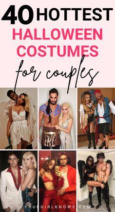 Easy College Halloween Costumes, Diy Halloween, Halloween Recipe, Halloween Makeup, Halloween Nails, Women Halloween, Halloween Decorations, Costume Halloween, Halloween Couples