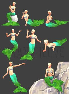 ByanxhLove — [BxL] Pose Request 14 Download & info Buy me a... Sims Videos, Sims 4 Anime, Mermaid Pose, Family Portrait Poses, Drawing Body Poses, Play Sims, Sims 4 Cc Finds, Sims Mods, Sims 4 Custom Content