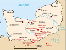 Ducal Normandy and places connected with Montgomery