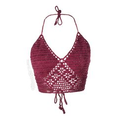 Crochet Halter Tank Top on Sale for $16.95 at The Hippie Shop