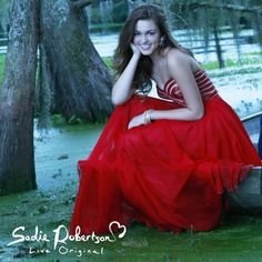 Duck Dynasty's Sadie Robertson Wears Red 'Live Original by Sherri Hill' Prom Dress, Shows Modest is Hottest