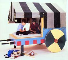 Kids gypsy wagon