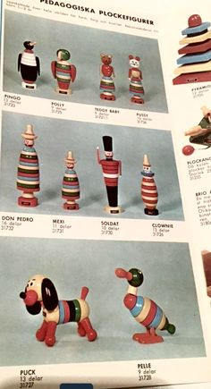 Brio Toys, Alexander Girard, Stacking Toys, Pull Toy, Bauhaus, Vintage Toys, Kids Playing, Wooden Toys, Collages