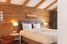 Bedroom of Lodge 5 Styles, Lodges, Bedroom, Furniture, Home Decor, Cabins, Decoration Home, Room Decor, Bedrooms