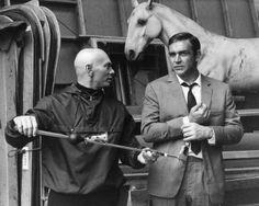 Sean and Yul Brynner, circa 1971