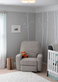 Gender Neutral Nursery- Woodland Themed