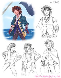 1740s Pirate Gangfield - October 2014 by The-Ez on deviantART