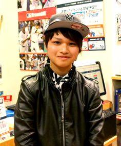 【大阪店】 2014年2月13日 ヤンキースの海外限定CAPをゲットされました!! とってもお似合いですっ♬他にもたくさん種類が有りますのでまた見に来てください(^o^)丿#mlb