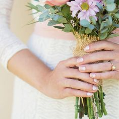 Bride Manicure Ideas from Jamberry Wraps