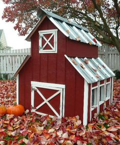The TajMahal of chicken coops...Just need to get the paint for the one CJ made for my babies and it would be just as beautiful!