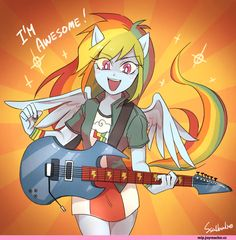 mlp art,my little pony Rainbow Dash, mane girls Rainbow Dash, Rainbow Rocks, My Little Pony Comic, My Little Pony Drawing, Fluttershy, Little Poni, Equestrian Girls, M Anime, Mlp Fan Art