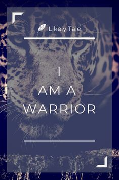 I am a warrior - daily affirmation - Simple, powerful affirmations for skeptics and cynics to use daily. Something that I love using personally and these are the ones that I regularly return to.     #dailyaffirmations #affirmations #affirmationposter    http://www.likelytale.com/affirmations-for-skeptics-and-cynics/