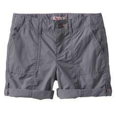 Girls 7-16 & Plus Size SO® Roll-Tab Neon Solid Utility Bermuda Shorts, Size: 16 1/2, Dark Grey
