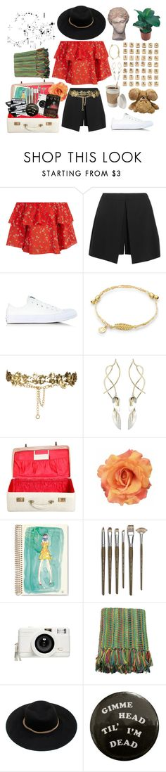 """""""To London Here I Go 🌹"""" by mazzyfaye on Polyvore featuring Alice + Olivia, Alexander McQueen, Converse, Hasbro, Zara, Journee Collection, Clips, Kate Spade, Monza and Lomography"""