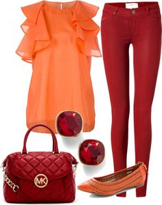 """Mango Berry"" by k-cat on Polyvore"