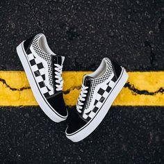 Rock City Kicks · New at RCK ·  Vans Old Skool Mix Checker (Black True White)  Sizes (4- 0e1251b68