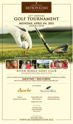 HMC Golf Tournament creative designed by RetnaMedia.com