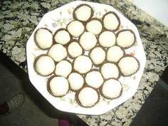 Bolitas de coco con leche condensada