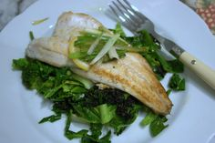 Super speedy Sea Bass served on a bed of wilted greens, seasoned with infused olive oil is the perfect meal to whip up on a flash. Best Wok, Sea Bass, Suppers, Short Hairstyles For Women, Asian, Meals, Dishes, Recipes, Free
