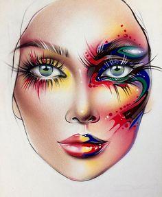 "5,316 Likes, 27 Comments - Sergey X (@milk1422) on Instagram: ""#artist@milk1412 ✨ #mylove #myart #myartistcommunity #myartistcommunityrussia #makeup #makeupart…"""