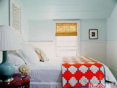 Spring Decorating Ideas - Spring Home Decor - House Beautiful. Benjamin Moore Spring Mint