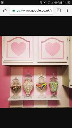 A small pic of kelly edens cute little kitchen. Its an amazing and covered in hello kitty. Xxx