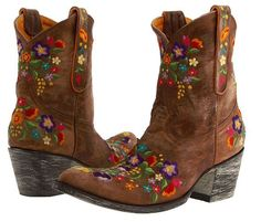 Old Gringo Sora Floral Embroidered Cowgirl Boot ~ Shop now on www.ShopHoityToity.com