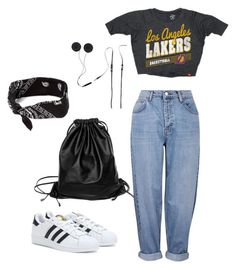 """""""Untitled#8"""" by aloha-tsyglina on Polyvore featuring Topshop, adidas, claire's, Blomor, Sportiqe and Xenab Lone"""