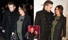 Pregnant Cheryl displays huge bump at Christmas carol concert