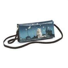 Catseye. Rooftop Cat Clutch Bag. - Cat and Dog Crazy