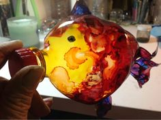RECYCLING JUNK INTO ART: 2 LITER BOTTLE RECYCLED INTO HAND CRAFTED FISH