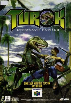 Turok Dinosaur Hunter (1996) Nintendo N64 advert