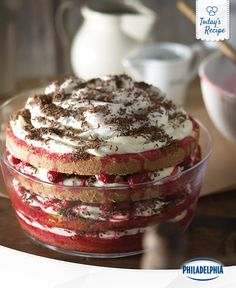 A raspberry trifle without the trouble. Nope, no trouble eating it at all.
